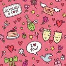 Letter,Love,Romance,Gift,Cake,Animal Markings,Heterosexual Couple,Letter,Pink Color,Multi Colored,Pattern,Dove - Bird,Wrapping Paper,Heart Shape,Valentine Card,Cute,Tied Bow,Ornate,Valentine's Day - Holiday,Illustration,Love Potion,Sketch,Potion,Love Letter,Doodle,Vector,Holiday - Event,Couple - Relationship,Design Element,Seamless Pattern