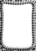Toned Image,Mardi Gras,Necklace,Jewelry,Frame,Cut Out,No People,Copy Space,Celebration,Fashion