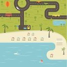 Urban Scene,Camping,Coastline,Landscaped,Backgrounds,Sport,Summer Camp,Beach,Travel,Tourist Resort,Land Vehicle,Bus,Abstract,Ilustration,Decoration,Symbol,Umbrella,Sparse,Travel Destinations,Transportation,Volleyball - Sport,Cartography,Forest,City Life,Ship,Vector,Yacht,Small,Map,District,Hot Air Balloon,Road,Land,Palm Tree,Summer,Car,template,Entertainment,Vacations,Tree,Green Color,Traffic,Parking Sign,City Of Seaside,Season