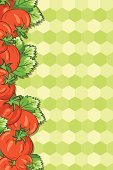 Vertical,Tomato,Leaf,Food,Hexagon,Backgrounds,Vector,Copy Space,Ilustration,Color Image,Hex