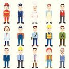 Photographer,Doctor,Construction Worker,Architect,Waiter,Plumber,Occupation,Clown,Scientist,Men,Electrician,Building Contractor,Ilustration,Vector,Foreman,Police Force,Chef,Businessman,Technology,Firefighter,People,editable,Engineer,Healthcare And Medicine,Adult,Scale,Education,Joker