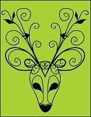 Computer Graphics,Decor,Fantasy,Nature,Gothic Style,Costume,Animal,Animal Markings,Antler,Bird,Pattern,Reindeer,Deer,Tree,Branch,Leaf,Season,Decoration,Backgrounds,Computer Graphic,Ornate,Abstract,Illustration,Stag,Vector,Dressing Up,Fashion,Background,Costume Reindeer Antlers