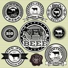 Cow,Farm,Freshness,Branding,Seal - Stamp,Livestock,Meat,Old-fashioned,Cooking,Computer Icon,Badge,Sign,Retro Revival,Barbecue,Postage Stamp,Food,Label,Barbecue Grill,Rubber Stamp,Menu,Domestic Animals,Success,Design,Old,Creativity,Insignia,Organic,Symbol,Market,Packing,Computer Graphic,Nature,Cultures,Packaging,Animal,Tag,Ideas,Animals In The Wild,Cafe,Ilustration,Set,1940-1980 Retro-Styled Imagery,premium,Ribbon,Chef,template,Dieting,Vector