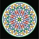 Floral Pattern,Islam,Leaf,Architecture,Decoration,Decor,Cultures,Beauty,Ilustration,Arabic Style,Ornate,Multi Colored