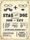 Poster,Retro Revival,Old-fashioned,Mustache,Backgrounds,Wedding,Invitation,Design,Family,Summer,Event,Engagement,Party - Social Event,Text,Doe,potluck,Textured Effect,Vertical,Celebration,Hipster,Stag,Vector,template,Ilustration,Horizontal,Paper Bag,Eyeglasses,Food