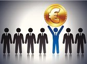 Tax,Europe,Business,Budget,Finance,Savings,Ideas,Design,Achievement,Global Finance,Tie,Concepts,Revenue Service,Euro Symbol,Coin,Currency,Lottery,Gold Colored,Currency Symbol,Collection,Investment,Millionnaire,Gold,Digitally Generated Image,Symbol,Success,Wealth,Computer Icon,Caucasian Ethnicity,Making Money,Equipment,Vector,European Union Currency,Stock Market,Businessman,Metallic,Banking,Suit,Home Finances