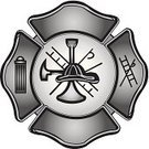 Firefighter,Toned Image,public service,Business,Badge,No People,Single Object,Cut Out