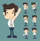 People,Emotion,Formalwear,Humor,Happiness,Variation,Suit,Success,Expertise,Business,Human Body Part,Human Face,Human Hand,Occupation,Business Person,Manager,Manual Worker,Standing,Smiling,Orthographic Symbol,Adult,Young Adult,Button Down Shirt,Cut Out,Thumb,Recruitment,OK Sign,Illustration,Cartoon,Group Of Objects,Males,Men,Young Men,Portrait,Businessman,Vector,Characters,Adults Only,Beautiful People,Shirt,OK,Corporate Business