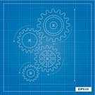 Blueprint,Gear,Plan,Engineer,Outline,Bicycle Gear,Mechanic,Order,Backgrounds,Drawing - Art Product,Grid,Arrow,Industry,Vector,Construction Industry,Ilustration,Instrument of Measurement,Turning,Vehicle Part,Computer Graphic,Technology,Blue,Single Line,Graph,Curve,Rain,Circle,Business,Box - Container,Square Shape,Color Gradient,Machine Part