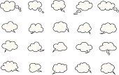 Cloud - Sky,Text Messaging,Text,Bubble,Crate,Fun,Concepts,Contemplation,Cool,Style,Discussion,Ideas,Halftone Pattern,Group of Objects,Ilustration,Single Word,Collection,Talk,Data,Vector,Tag,Information Medium,Speech,Set,Pattern,Humor,Balloon,Design,Letter,Symbol,Concentration,Communication,Art,Abstract,Message,Talking,Computer Graphic,Thinking,Sign