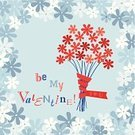 Bouquet,Decoration,be my valentine,Valentine's Day,Flower,Ilustration,Vector,Holiday,Floral Pattern,Love