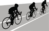 Cyclist,Silhouette,Road,Cycling,Sports Race,Cycle,Healthy Lifestyle,Male,Outdoors,Competitive Sport,People,The Human Body,Exercising,Bicycle,Action,Speed,Motion,Sport,Extreme Sports,Leisure Activity,Little Boys,Men,Ilustration,Vector,Travel,Activity,Athlete,Professional Sport,Summer