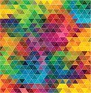 Geometric Shape,Pattern,Multi Colored,Backgrounds,Two-dimensional Shape,Part Of,Computer Graphic,Colors,Mosaic,Vector,Ilustration,Abstract,Triangle