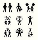 Symbol,People,Group Of People,Talking,Icon Set,Occupation,Contract,Black Color,Discussion,Perfection,Portfolio,Personal Organizer,Aspirations,Administrator,Cloudscape,Teamwork,Black And White,Office Interior,Manual Worker,Concepts,Inspiration,Business,Ilustration,Ideas,White,Businessman,Order,Design Element,Gear,Silhouette,Plan,Set,Computer Graphic,Diary,Success,Social Issues,Back Lit,Design,Connection,Guidance,Determination,Communication,Job - Religious Figure,Vector