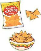 Potato Chip,Nachos,Snack,Bag,Food,Cheese,Unhealthy Eating,Bowl,Carnival,Vector,Ilustration,Take Out Food,Party - Social Event,Freshness,Salt,Parties,Holidays And Celebrations,Junk Food/Fast Food,Indulgence,Slippery,carbohydrates,Food And Drink