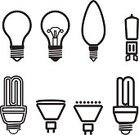 Light Bulb,Halogen Light,Outline,Symbol,Creativity,Computer Graphic,New,Technology,Electric Lamp,Doodle,Low,Collection,Electricity,Sparse,Vector,Efficiency,Brainstorming,Fluorescent Light