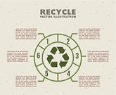 Number,Recycling Symbol,Infographic,Recycling,Care,Concepts,Environmental Conservation,Green Color,Ilustration,Computer Graphic,Sign,Icon Set,Vector,Design,Symbol,Nature,Environment
