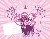 Heart Shape,Crown,Star - Space,Pink Color,Rosé,Backgrounds,Love,Dirty,Grunge,Valentine's Day - Holiday,Vector,Flower,Symbol,Modern Rock,Floral Pattern,Married,Art,Ornate,Image,Ilustration,Circle,Decoration,Spotted,Shape,Leaf,Splattered,Ink,Painted Image,Creativity,Group Of People,Concepts And Ideas,Group Of Animals,Dating,Group of Objects,Flirting