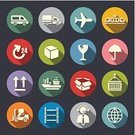 Symbol,Airplane,Icon Set,Flat,Freight Transportation,Box - Container,Globe - Man Made Object,Vector,Speed,Transportation,Earth,Train,Railroad Track,Arrow Symbol,Shipping,Connection,Technology,Car,Air,E-commerce,Trading,Customer Service Representative,Sign,Umbrella,Truck,Trucking,Global Communications,Paper,Time,Shadow,Multi Colored,Mail,Delivering,Design,Customs,Service,Cargo Container,Telephone,Searching,Travel,Business
