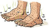 Human Foot,Ugliness,Human Toe,Men,Senior Adult,Standing,Cartoon,Dirty,Monster,Illness,Beastly - Film Title,Dirty Feet,Insect,Toenail,Old,Senior Men,Pimple,Fly,pungent,Foot Odour,Troll,Unhygienic,Rotting,Unpleasant Smell,Warty,Hairy,Pedicure