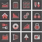 Graph,Internet,Chart,Data,Infographic,Set,Icon Set,Symbol,Sign,Diagram,Vector,Arrow,Computer Icon,Number,Silhouette