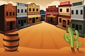 Wild West,West - Direction,Backgrounds,Cartoon,Town,Cowboy,Building Exterior,Built Structure,Street,Landscape,Scenics,Old,Saloon,Bank,Cactus,USA,Sheriff,Non-Urban Scene,Wood - Material,Clip Art,Barrel,Country - Geographic Area,Ilustration,Outdoors,Office Building,Drawing - Art Product,Rural Scene,The Americas,Store,Vector,History