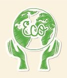Sustainable Resources,Planet - Space,Environment,Nature,Ideas,Human Hand,Earth,Style,Design,Symbol,Green Color,Creativity,Environmental Conservation,Vector,Design Element,Ilustration,Thinking,Protection,Backgrounds,White