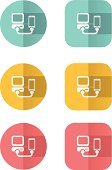 Technology,Flat,Concepts,USB Cable,Smart Phone,Sparse,Focus on Shadow,Ilustration,Vector,Symbol,Icon Set,Fashionable,Mobile Phone,Desktop PC,Youth Culture,Paper,Folded,Shadow,Modern,Internet,PC,Style,Elegance,Togetherness,Art,Computer Icon,Mobility,Connection,Origami