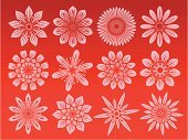 Edelweiss,Daisy,Flower,Symbol,Rose - Flower,Computer Icon,Floral Pattern,Abstract,Vector,Sign,Set,Religious Icon,Computer Graphic,Drawing - Art Product,Springtime,Flower Bed,Art,Backgrounds,Ornamental Garden,Red,Love,Pink Color,Painted Image,Ilustration,Summer,Design,Nature,Color Gradient,Vibrant Color,Decoration,Nature,Art Product,Plants