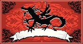 Dragon,Japanese Culture,Japan,Backgrounds,Community,Sign,midevil,Red,Black Color,Frame,Artificial Wing,China - East Asia,Chinese Culture,Drawing - Activity,Indigenous Culture,Wing,Decoration,Vector,Wing,Design,Drawing - Art Product,Christmas Decoration,handcarves,Concepts And Ideas,People,Fantasy,Banner,Evil,Ilustration,Outline,Flying