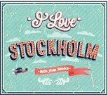 Stockholm,Sweden,Sign,Old-fashioned,City,Retro Revival,Sky,Letter,Style,Creativity,Ornate,Airplane,Message,Greeting Card,Poster,Postcard,Country - Geographic Area,Text,Backgrounds,Europe,Travel,Capital Cities,Vector,Ilustration,Typescript,Banner,Beautiful,Design,Decoration,Vacations,Paper,Ribbon