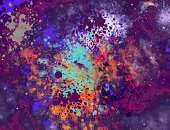 Backgrounds,Vector,Abstract,Multi Colored,Ethereal,Geometric Shape,Pattern,Bright,Ilustration,Technology,Purple,Magenta,Glitter,Spotted,Illustrations And Vector Art,Graphic Background,Composite Image,Celebration,Wallpaper Pattern,Wallpaper,Horizontal,Blue,Textured Effect,Computer Graphic,Blue Background,Illuminated,Design,Flowing,Transparent,Green Color,Design Element,Light - Natural Phenomenon,Yellow,Defocused,Modern,Vibrant Color,Copy Space,Digitally Generated Image,Circle,Funky,Colors,Photographic Effects