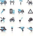 Construction Equipment,Computer Icon,Symbol,Hardhat,Roadblock,Icon Set,Vehicle Scoop,Road Construction,Vector,Cement Truck,Industrial Equipment,Concrete,Construction Worker,Digging,Construction Site,Isolated On White,Wall,Construction Barrier,Interface Icons,Spanner,Wheelbarrow,Work Tool,Built Structure,Road Warning Sign,Set,Brick,Construction Industry,Working,Construction Machinery,Group of Objects,Wrench,Hand Tool,Warning Sign,Excavation Vehicle,Truck,Architecture,Screwdriver,Traffic Barricade,Bulldozer