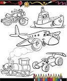 Coloring,Child,Car,Airplane,Cartoon,Train,Cheerful,Happiness,Motorcycle,Industrial Ship,Shipping,Coloring Book,Nautical Vessel,Ship,Railroad Track,Engine,Container Ship,choo choo,Preschool,Commercial Airplane,Education,Steam Train,Cruise Ship,Spoiler,Sports Race,Black Color,Cute,Racecar,Humor,White,Locomotive,Drawing - Art Product,Cargo Container,Characters,Clip Art,Fun,Mode of Transport,Transportation,Vector,Ilustration,Land Vehicle,Container,Rally Car Racing