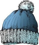 Knit Hat,Warm Clothing,Knitting,Vector,Winter,Bobble Hat,Cold - Termperature,Hat,White Background,Heat - Temperature,Sketch,Single Object,Ilustration,Clothing,Isolated,Isolated On White,Drawing - Art Product,Wool,Blue,Woven,Skiing,Cute,Frozen,Pencil Drawing,Cap,Headwear,Ski,Snow,Pattern,Multi Colored