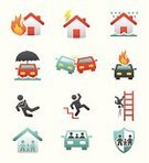 Insurance,Real Estate,Sign,Symbol,Icon Set,Safety,Ladder,Home Interior,House,Set,Accident,Traffic,Disaster,Environmental Damage,Safe,Sunbeam,Storm,Danger,Assistance,Security,Land Vehicle,Style,Event,Design Element,Vector,Flood,Industry,Group of Objects,Falling,Natural Disaster,Nature,Multi Colored,Fire - Natural Phenomenon,Protection,Part Of,Silhouette,Physical Injury,Shield,Ilustration,Design,Family,Collection,Lock,Death,Damaged