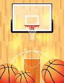 Basketball Court,Basketball Hoop,Basketball,Basketball - Sport,Textured,Ball,Boundary,March Madness,Three Point Line,Wood - Material,foul line,Flyer,Parquet Floor,NCAA Men's Basketball Championship Tournament,Net - Sports Equipment,Ilustration,Poster,Ncaa Basketball,Backgrounds,Sport,Sports Boundary,Vector,Three Dimensional,Basketball Arena,Center Court,Candid,Hardwood,Three-dimensional Shape,Court,Basketball - International Leagues,WNBA,Back Board,Design