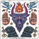 Goat,Devil,Evil,Symbol,Back Lit,Key,Horned,baal,Judaism,Backgrounds,Fire - Natural Phenomenon,Ancient,Bird,Vector,Mythology,Dirty,template,Engraving,History,Human Fertility,Medieval,Spirituality,Art,Drawing - Art Product,Crown,Raven,God,Goddess,Human Hand,Rose - Flower,Sacrifice,Ceremony,Authority,Love,Black Color,Religion,Computer Graphic,God,Praying,Ilustration,Human Eye,Worshipper,Battering Ram,Paganism,Hell,Heaven,Providence,Traditional Ceremony