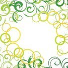 Summer,Nature,Springtime,Season,Decoration,Multi Colored,Circle,Ilustration,Floral Pattern,Abstract,Backgrounds,Creativity,Vector