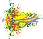 Rainbow,Color Gradient,Colors,Red,Backgrounds,Yellow,Abstract