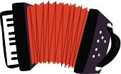 Accordion,Retail,Musical Instrument,German Culture,Cut Out,No People,Single Object