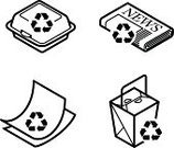 Symbol,Newspaper,Recycling,Recycling Symbol,Paper,Take Out Food,Polystyrene,Garbage,Carton,Environmental Conservation,Picking Up,Foam,Pollution,reuse,Removing,Earth,Computer Printer,Food,Environment,Speed,Rescue,Protection