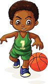 Sport,Small,Sphere,Circle,Indoors,Outdoors,Basket,Activity,Image,Backgrounds,Computer Graphic,Men,Little Boys,People,Sports Clothing,Hobbies,Playing,Child,Dribbling,Tan Complexion