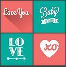Love,Arrow Symbol,xo,Flat,Backgrounds,Retro Revival,Label,Blue,White,Invitation,Ribbon,Couple,Valentine Card,Celebration,Typescript,Pastel Colored,Vector,Ilustration,Beautiful,Party - Social Event,Day,Composition,Design,Calligraphy,Heart Shape,Poster,Valentine's Day - Holiday,Alphabet,Ornate,Romance,Simplicity,Wedding,Painted Image,Cheerful,Long Shadow,Pink Color,Modern,Banner