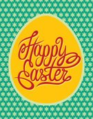Pattern,Easter,seamless pattern,Seamless,Eggs,Text,Holiday,Calligraphy,Flower