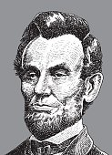 President,Abraham Lincoln,Vector,Black And White,American Culture,The Past,Governmental Occupation,Ilustration,Fine Art Portrait,USA,Engraved Image,Presidential Election,Dollar,Public Speaker,Former US President,President Of The USA,Politics,Social History,Pen And Ink,Period Costume,Political Party,Leadership,Election,Mature Men,Finance,Business,Only Mature Men,One Mature Man Only,Government,19th Century Style,Historical Clothing,Human Face,Old-fashioned,One Person,Politician,Currency,Classical Style,Concepts And Ideas,North America,History,Patriotism