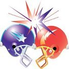 Football Helmet,Hitting,2010,450,Sport,Ilustration,No People,Group of Objects,Cut Out