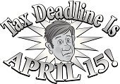 Business,Deadline,One Person,Finance,Toned Image,People,Short Hair,Worried,Staring,Frowning,Looking Away,Reminder,Men,Raised Eyebrows,Puckering,Adult,Cut Out,april 15th