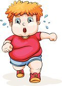 Child,Jogging,Science,Red,Blue,Friendship,Overweight,Small,Sibling,Grandchild,Image,Caucasian Ethnicity,Full,Computer Graphic,Brother,People,T-Shirt,Shoe,Grandson,Vector,Sweat,Men,Little Boys,Backgrounds