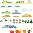 Urban Scene,City,Cartoon,Application Software,Island,Skyscraper,Vector,Building Exterior,Remote,Residential Structure,Pine Tree,Single Object,Iceberg - Ice Formation,Home Interior,Built Structure,Igloo,Stone Material,Springtime,Stone,Urban Skyline,Tree,Season,Palm Tree,Fruit,Humor,Mountain,Snow,House,Leisure Games,Windmill,House,Ilustration